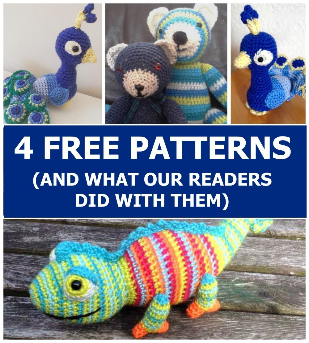 Free Amigurumi Crochet Patterns Blog : 4 Free Patterns (And What Our Readers Did With Them) Top ...