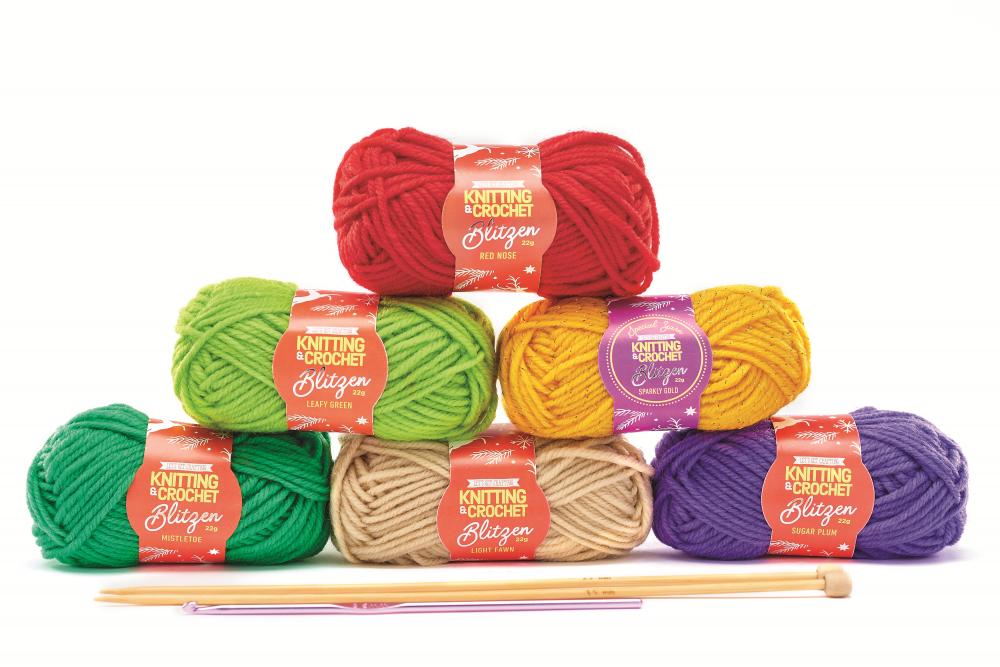 Blitzen Yarn Kit