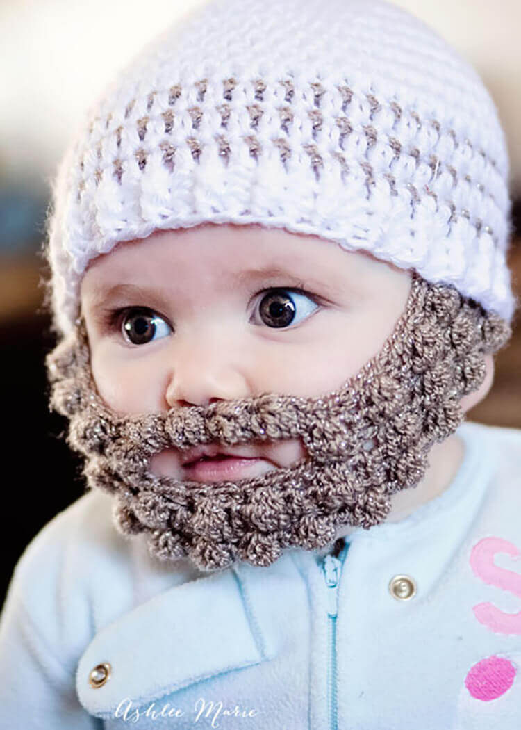 These Crochet Baby Beards Are The Top Crochet Patterns