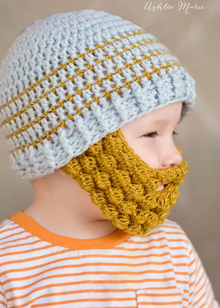 Crochet Baby Beard