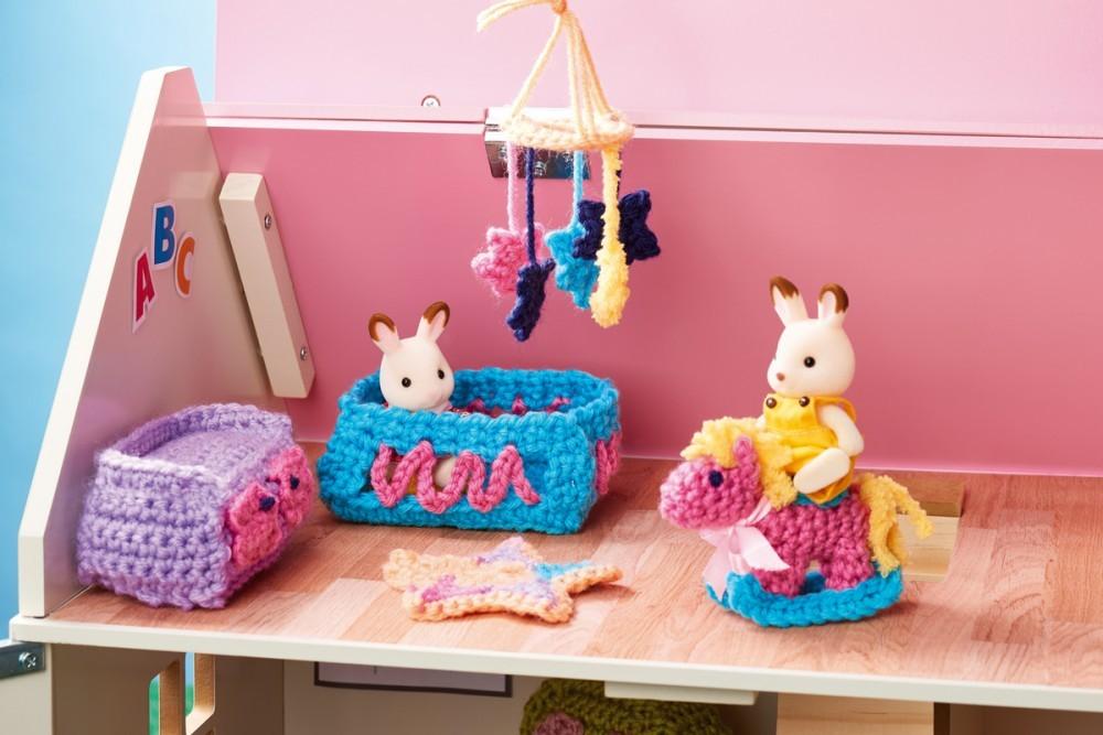 Crochet Nursery Room Furniture