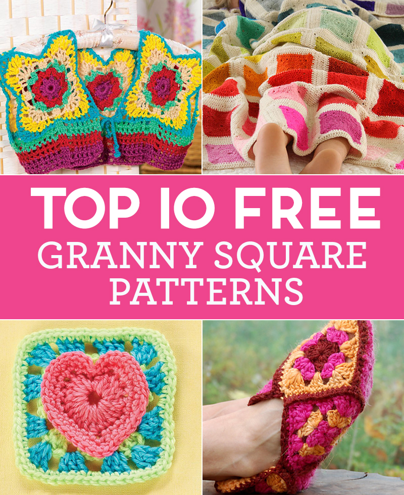 Top 10 FREE Granny Square Patterns
