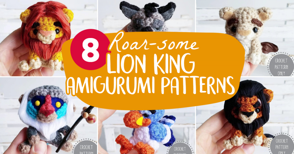 Crochet Lion Amigurumi Patterns – Best & Free DIY Projects | Made ... | 523x1000