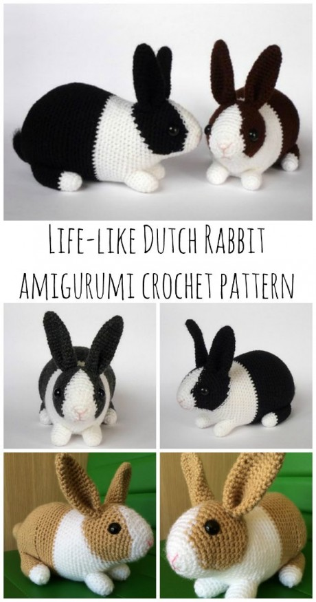 13 Lifelike Amigurumi Animals