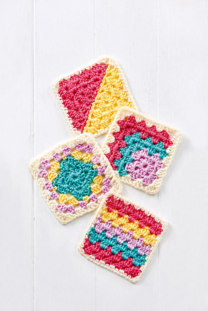 https://www.topcrochetpatterns.com/free-crochet-patterns/granny-square-series-part-two