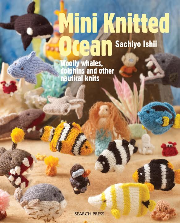 Mini Knitted Ocean Book Giveaway
