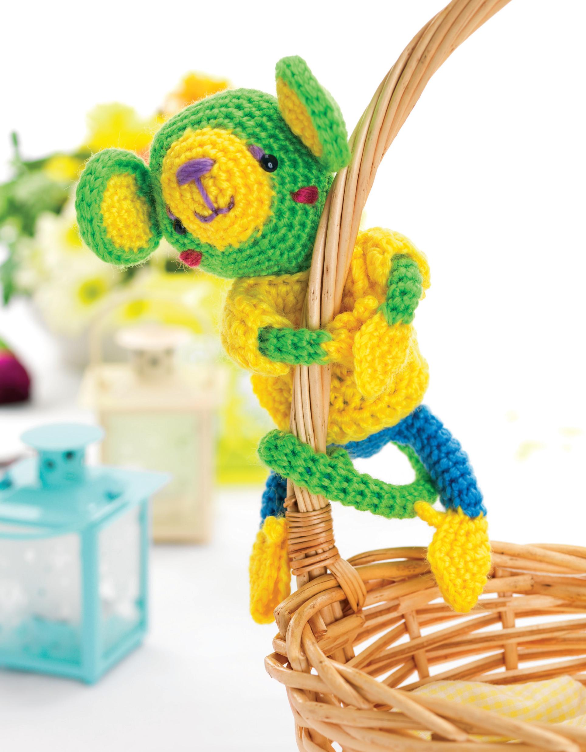 Amigurumi monkey toy Crochet Pattern