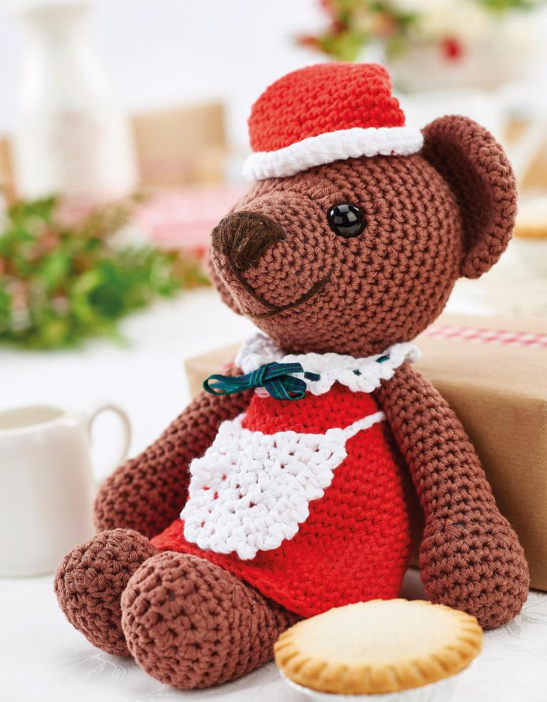 Christmas Baking Bear