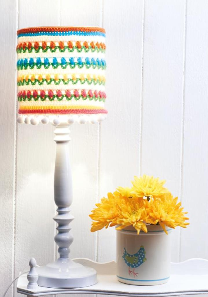 Colourful Lampshade Cover