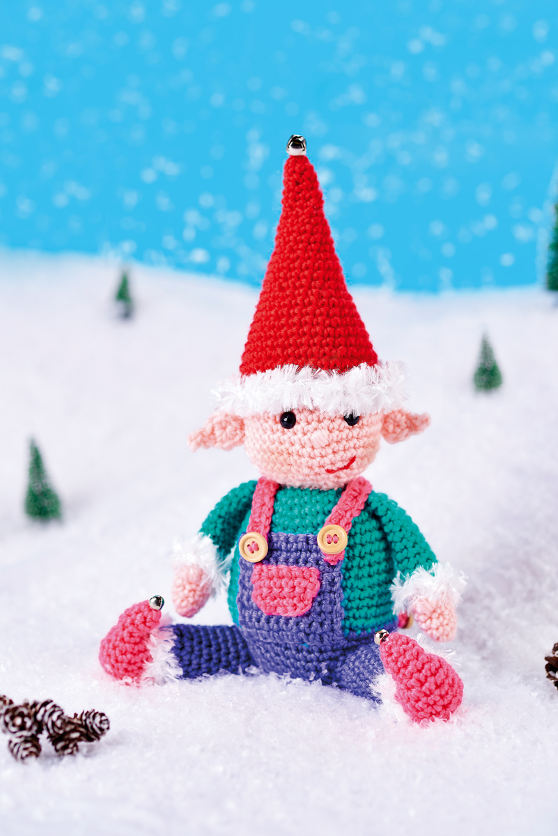 Happy Elf Crochet Pattern
