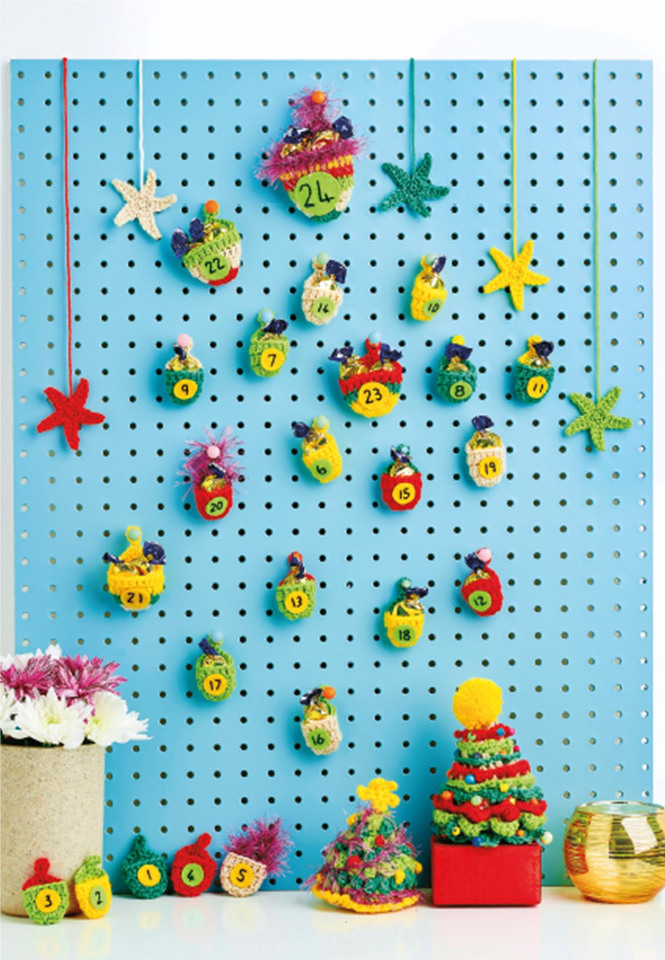Crochet Advent Calendar Crochet Pattern