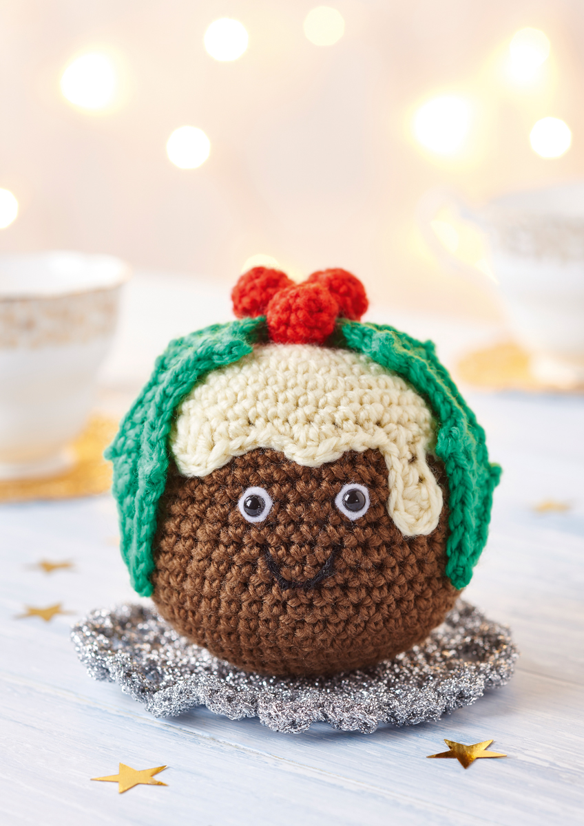 Christmas Pudding Crochet Pattern