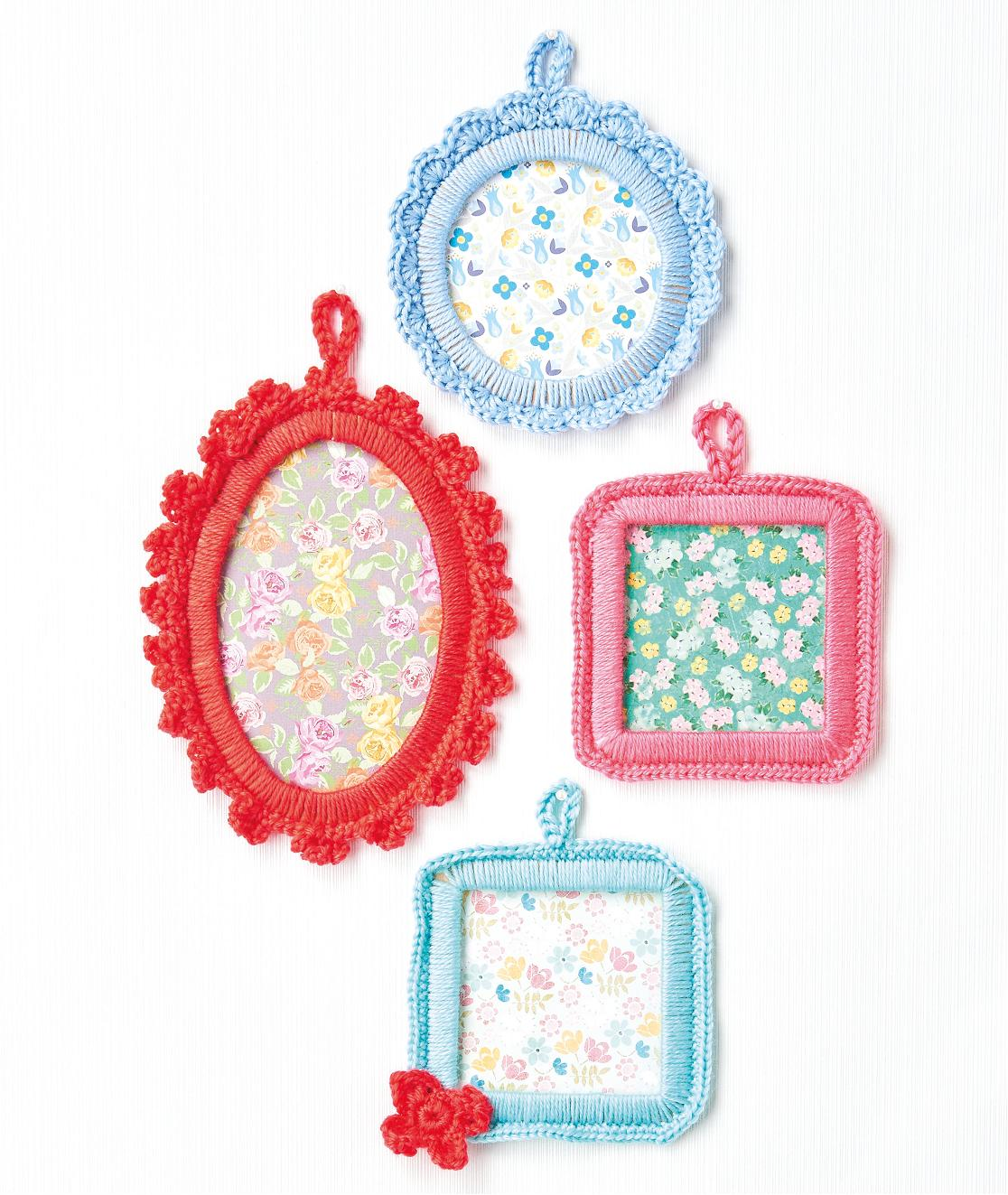 Picture Frames Crochet Pattern