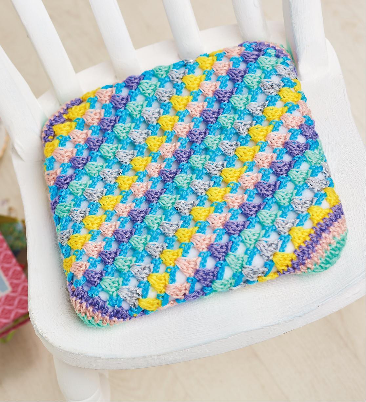 Seat cushion Crochet Pattern