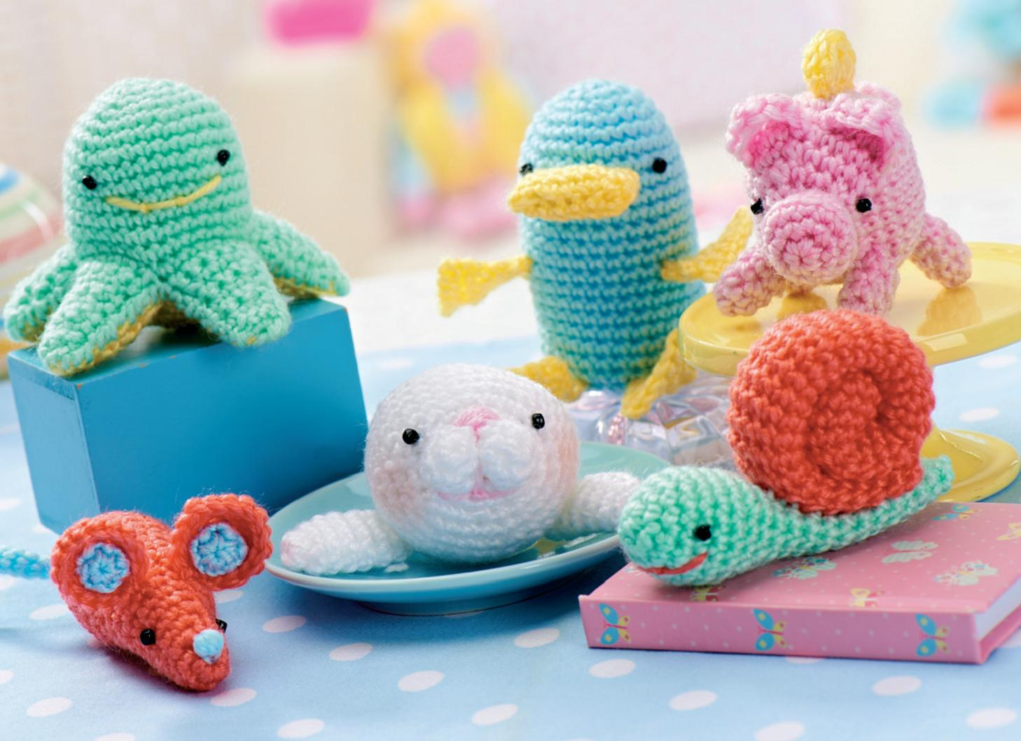 All Free Amigurumi Patterns : Amigurumi creatures Crochet Pattern