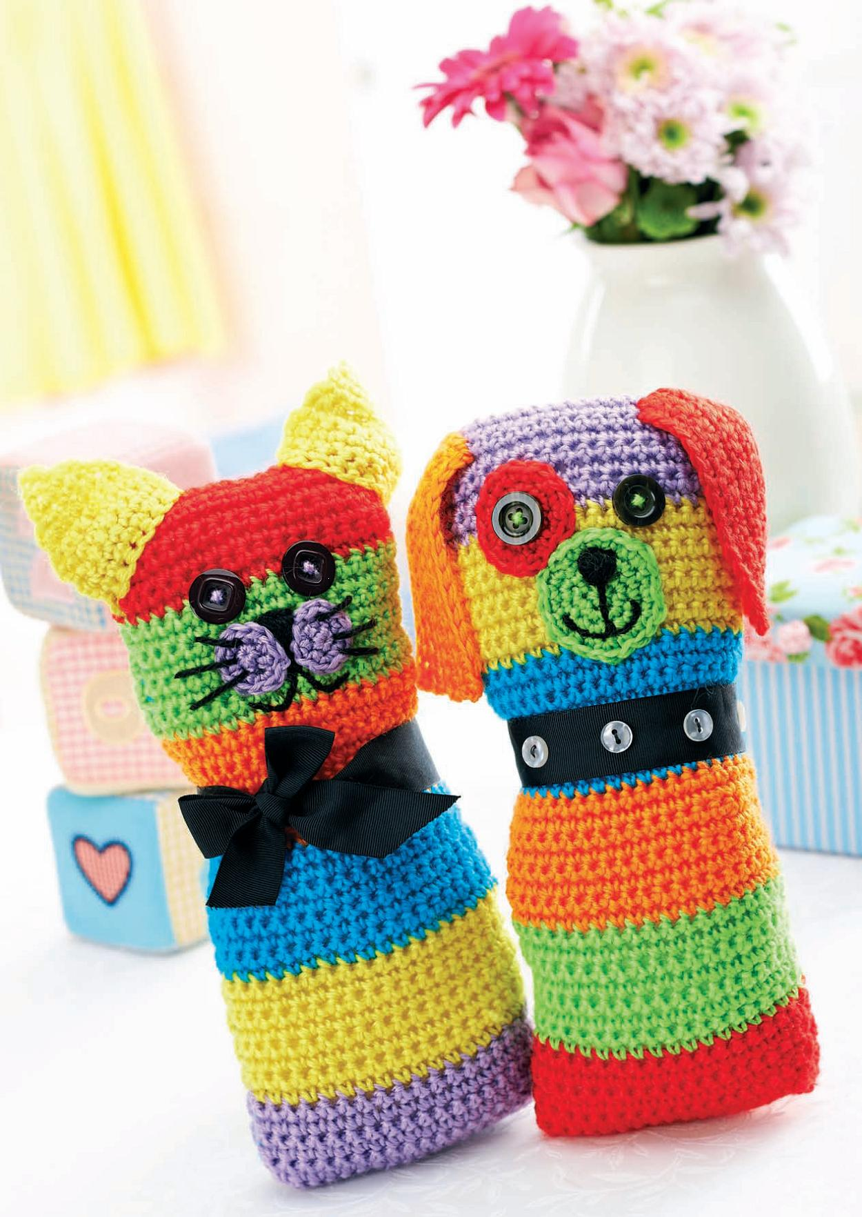 Crochet Cat And Dog Toys Crochet Pattern