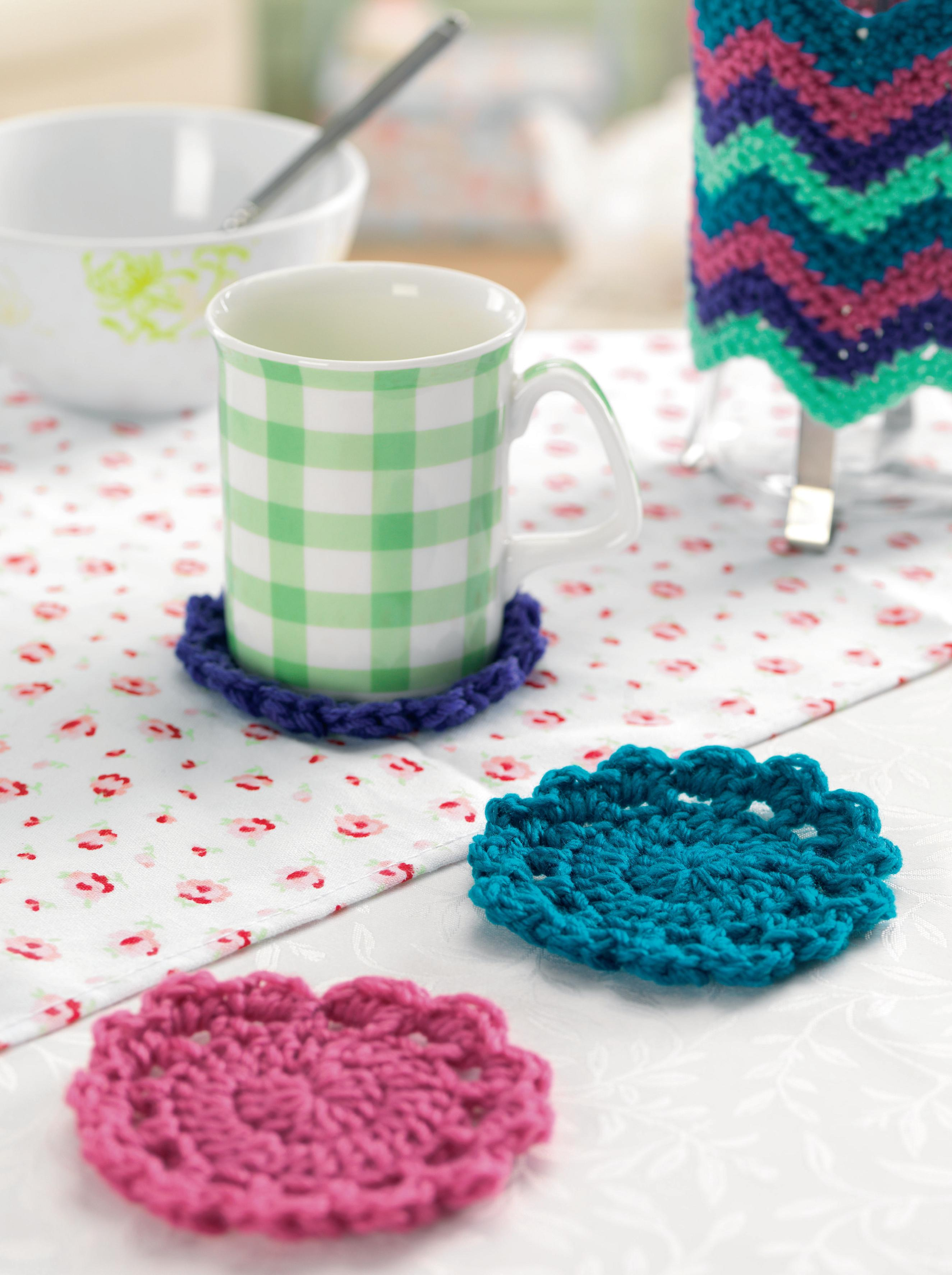 Free Online Crochet Patterns For Coasters : Crochet circular coasters Crochet Pattern