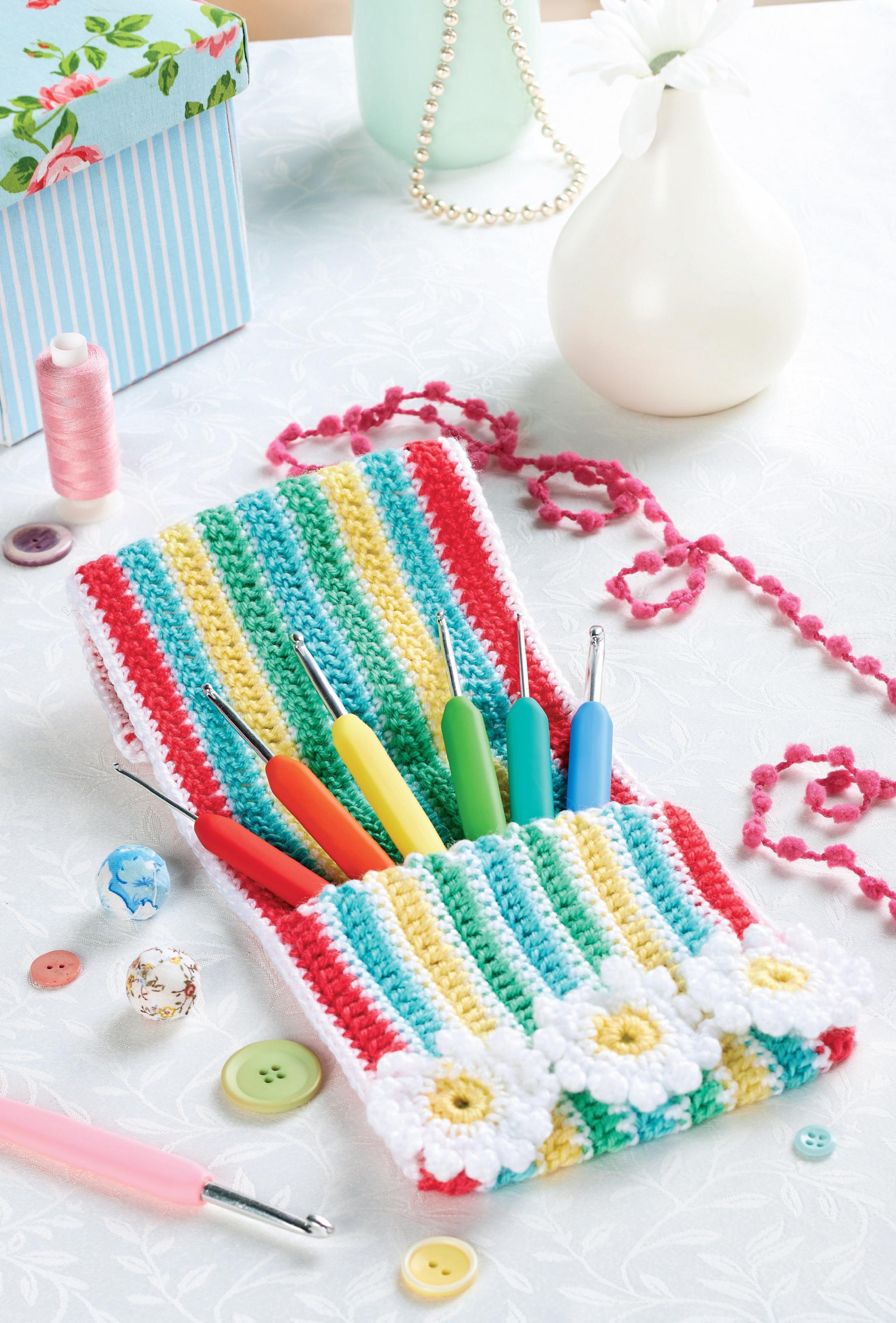 Crochet Hook Case Top Crochet Patterns